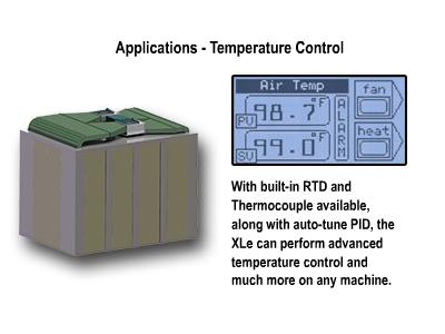 Horner-XLe-temperature-control