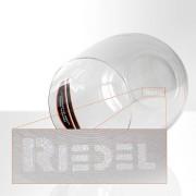 """Beber de vidrio con logo de la marca grabado con láser """"Riedel"""""""